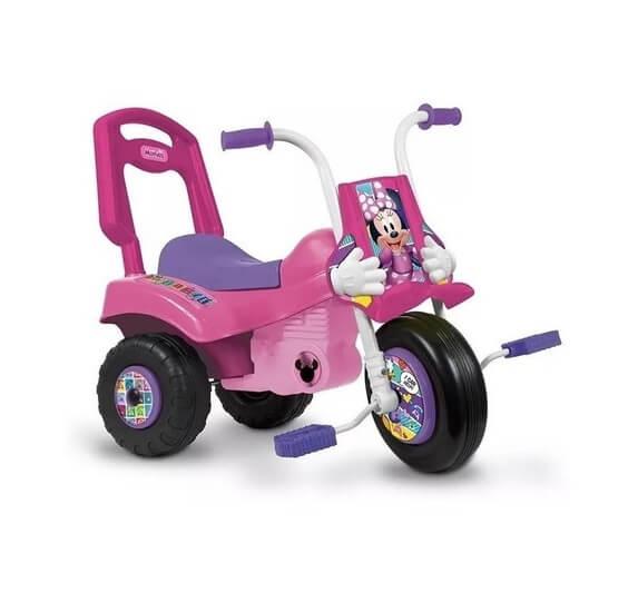 Triciclo Moto Minnie & Mickey